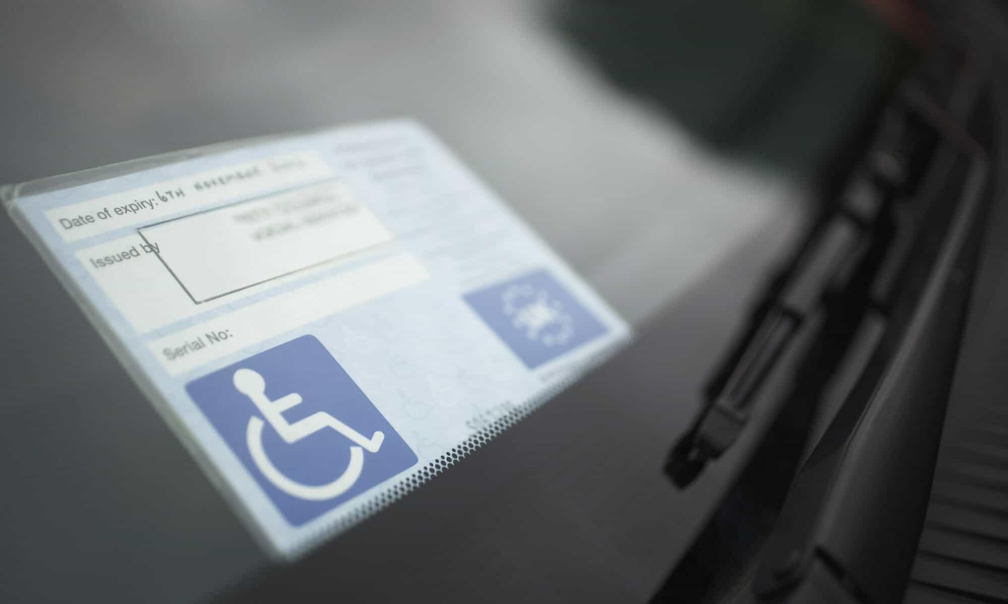 Parkausweis nach Paragraph 29b STVO
