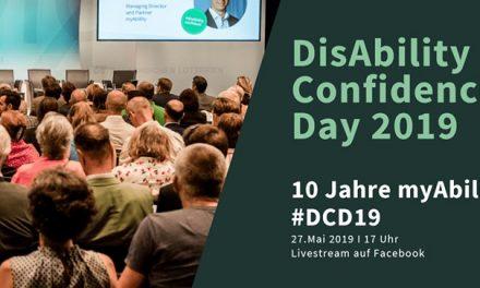 DisAbility Confidence Day 2019 – 10 Jahre myAbility