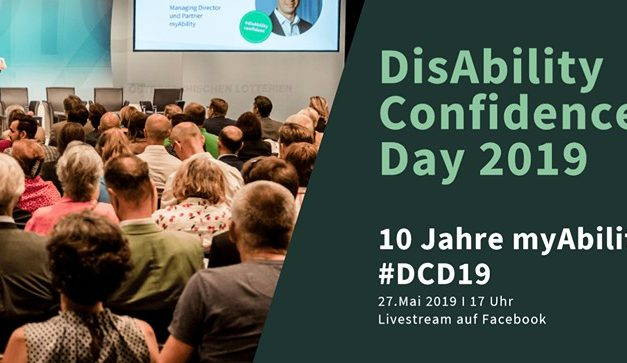DisAbility Confidence Day 2019 – 10 Jahre myAbility
