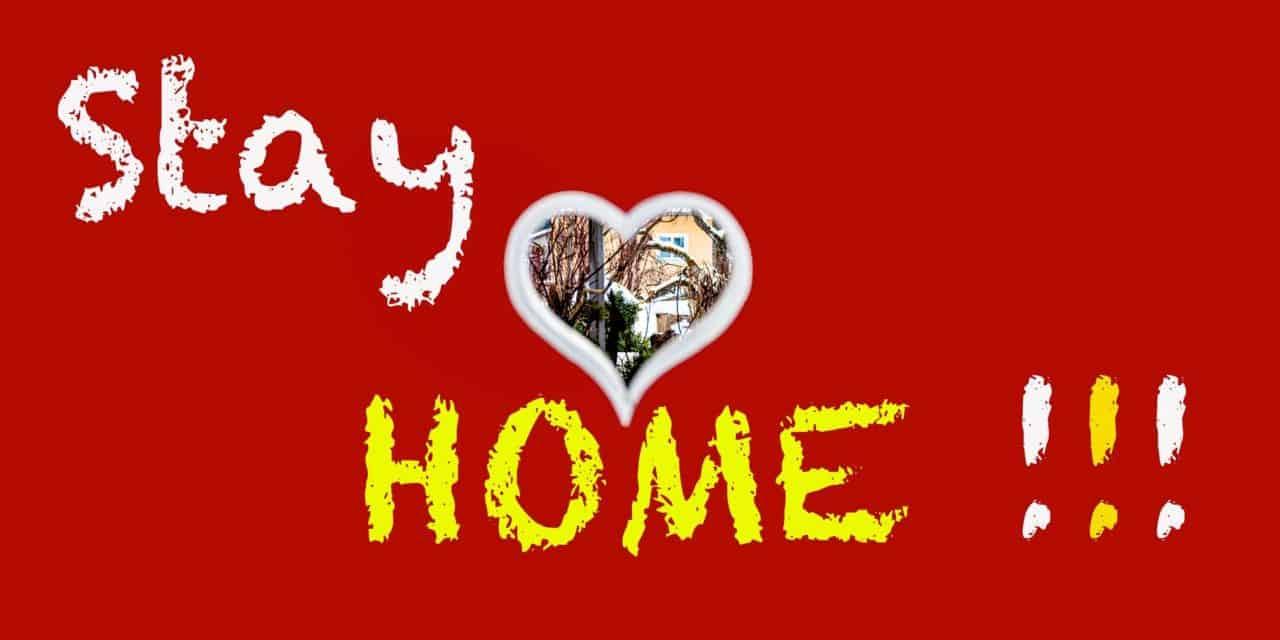 Daheim bleiben – gesund bleiben